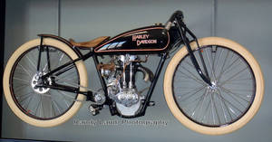 1932 Harley-Davidson Pea Shooter Racer by Caveman1a