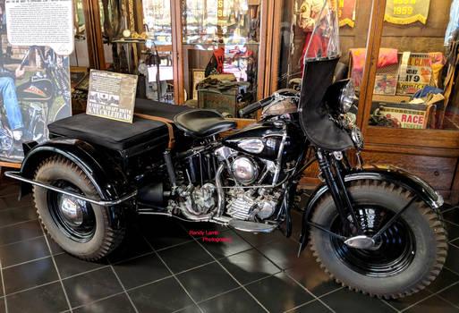 Prototype Harley-Davidson Knucklehead Trike