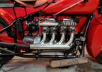 An Indian Motorcycle Four-Cylinder Engine by Caveman1a