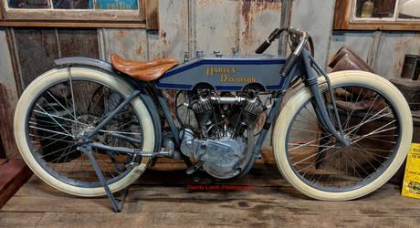 1913- 1916 Harley-Davidson  Board-Track Racer by Caveman1a