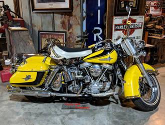 Harley-Davidson Panhead Duo-Glide by Caveman1a