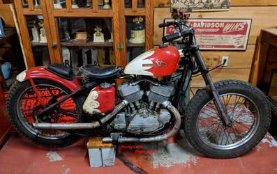 Racing Harley-Davidson K-Model by Caveman1a