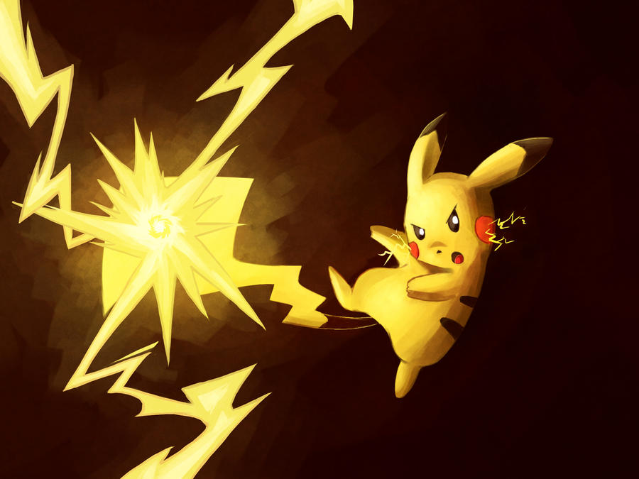 Pikachu used Electro Ball by LazyAmphy on DeviantArt