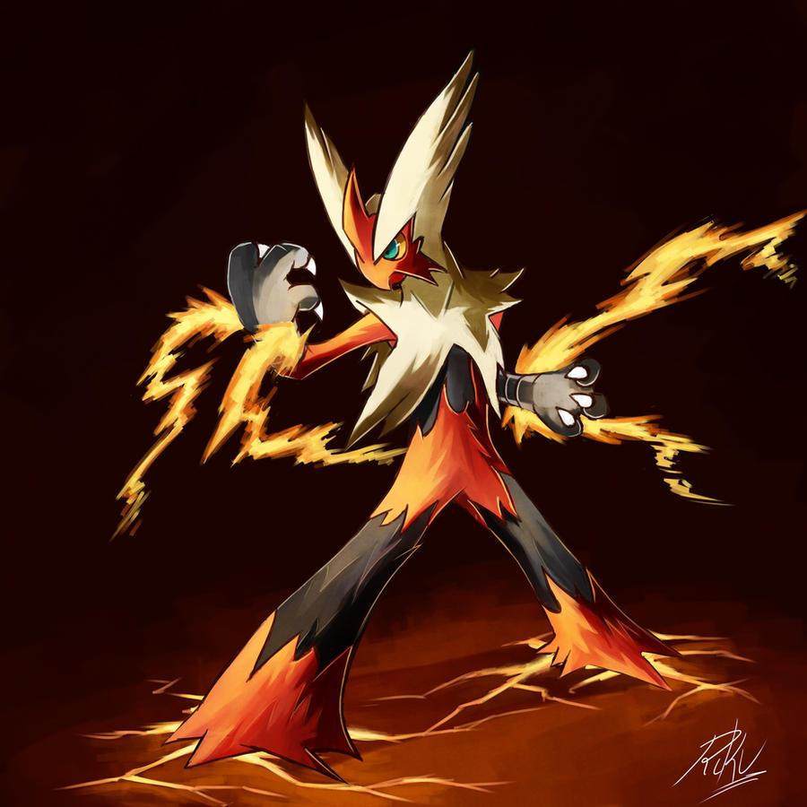 Pokemon mega evolution fan art geektyrant - Pokemon mega evolution blaziken ...