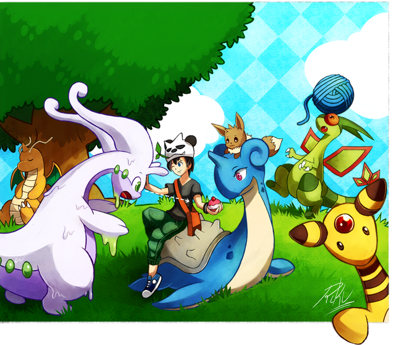Pokemon Amie By Lazyamphy On Deviantart