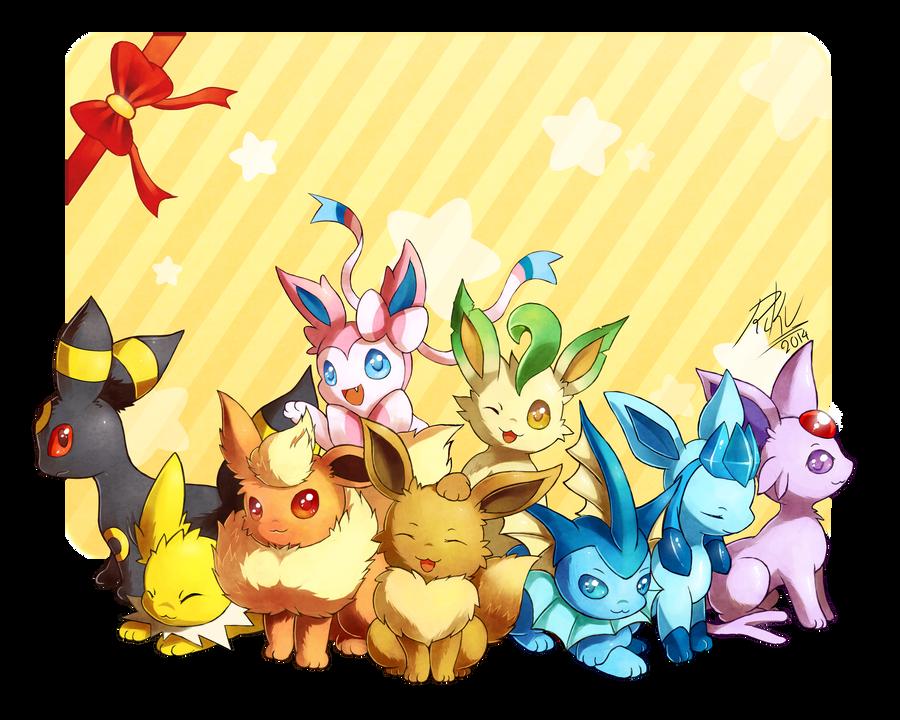 Nine Cuties by LazyAmphy