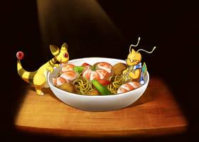 Chow Mein by LazyAmphy