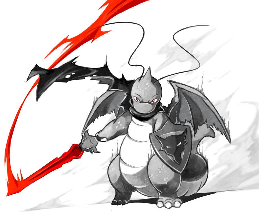 Dragon Knight by LazyAmphy