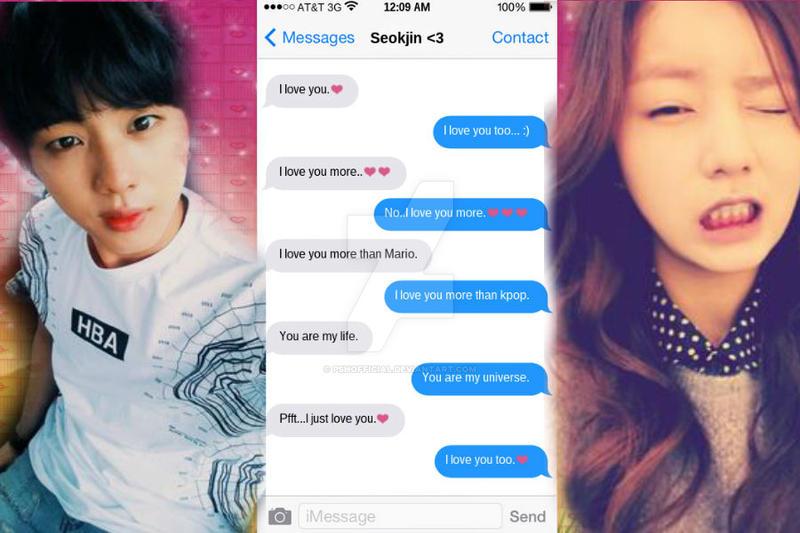 BTS Jokes,Memes,Lyrics,etc. - Text Message : Jin 2 ...