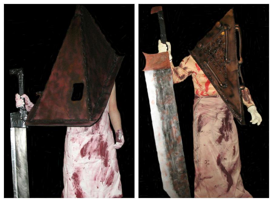 Silent Hill Pyramid Head costumes by TheDarkAssassin444