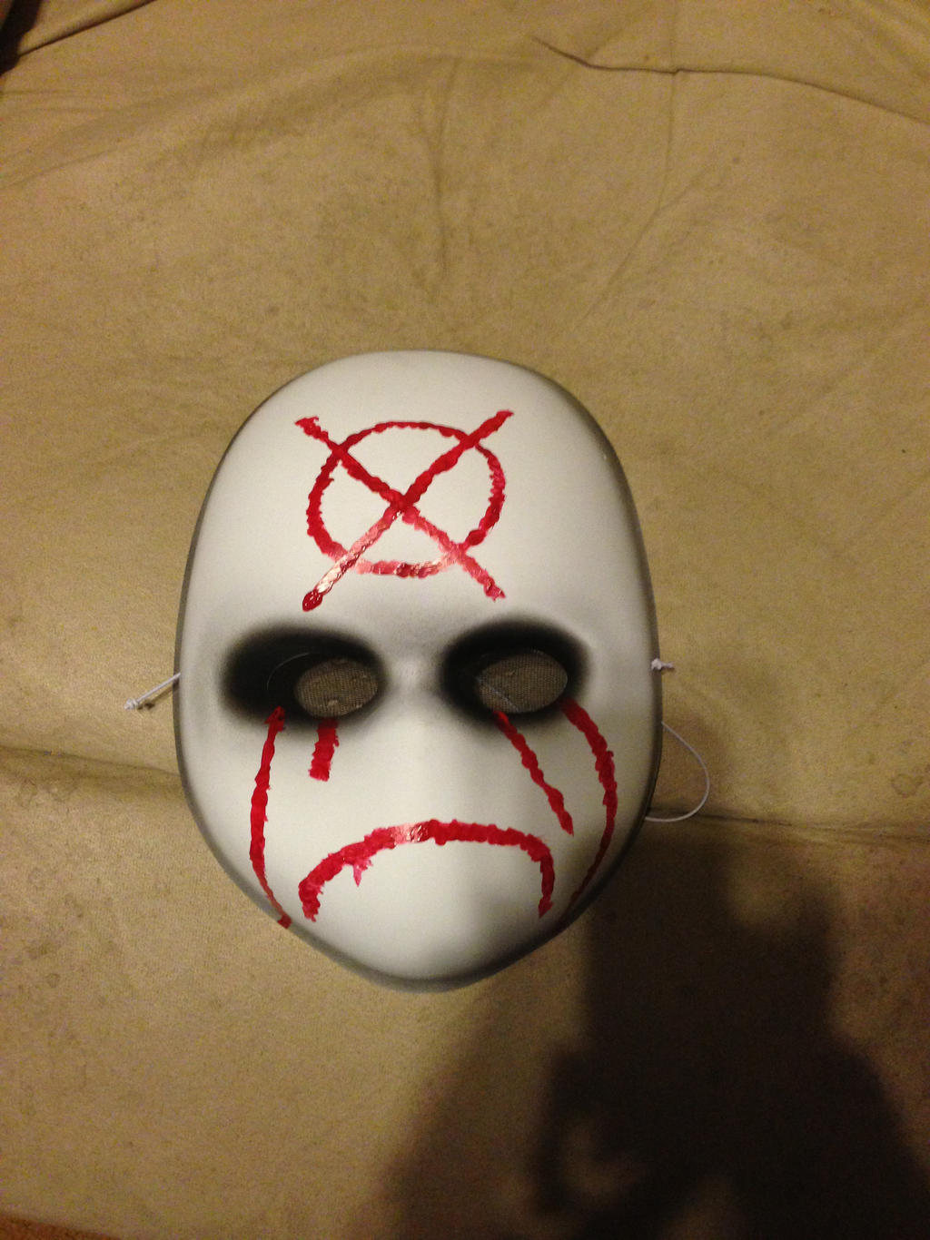 Как сделать маску слендермена