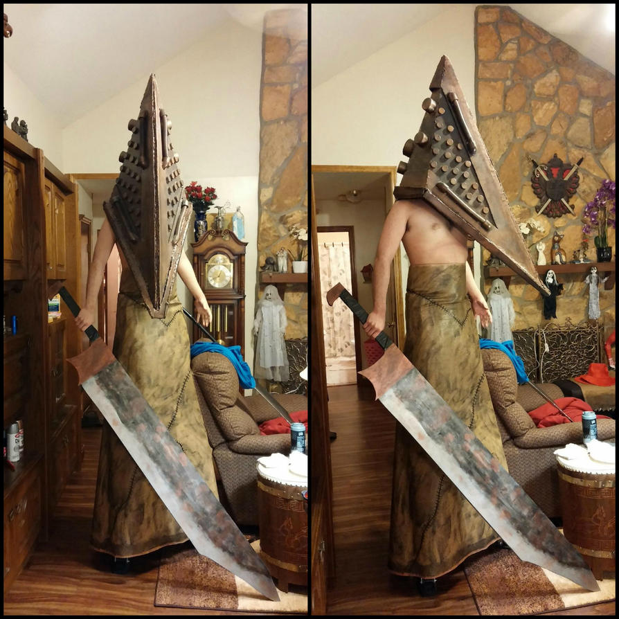 Silent Hill Film Red Pyramid cosplay (better view) by Rising-Darkness-Cos