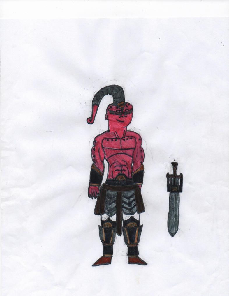 Super Buu in Battle Armor by FemaleJester1212