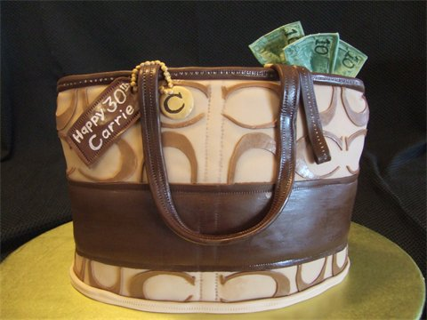 Coach Purse Cake by ~jwitchy65