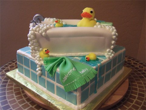 Rubber Ducky Cake by jwitchy65