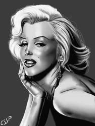 Marilyn Monroe digital by cssp