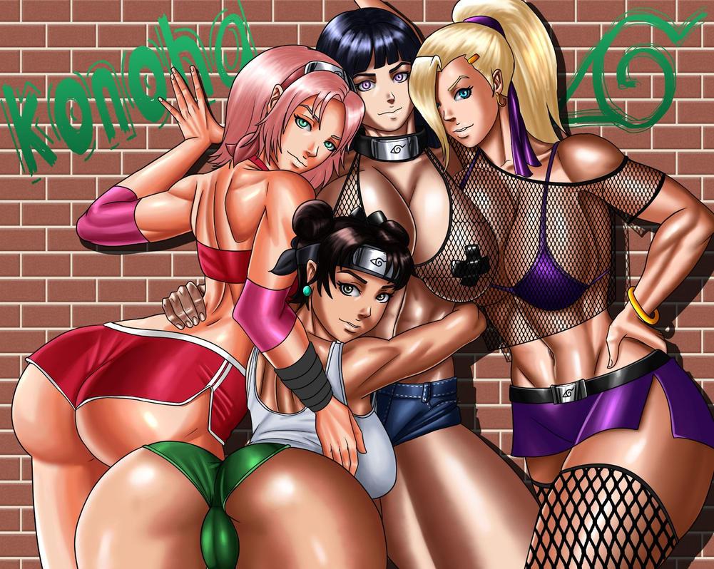 Konoha Girls by cssp