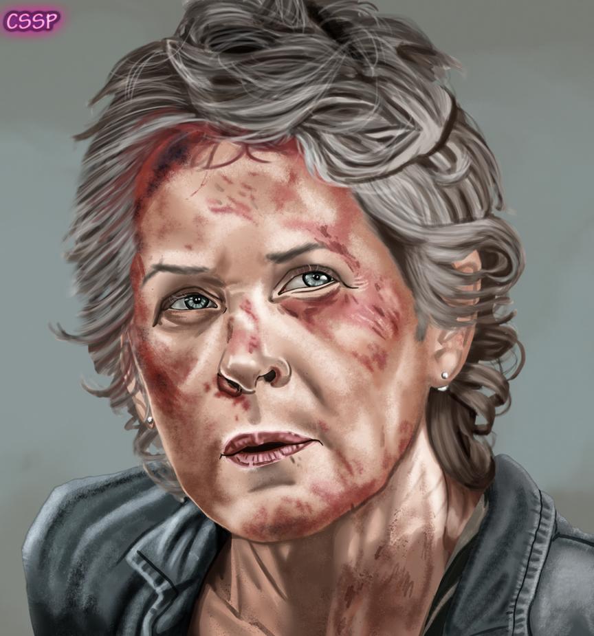 Carol - The Walking Dead by cssp
