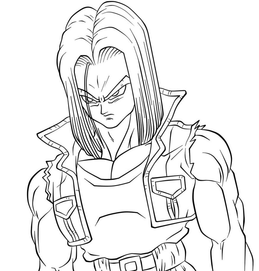 Trunks Lineart 26 by Andy156 on DeviantArt