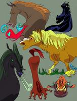 Evolutionary Recidivists by Psshaw