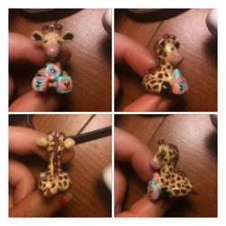 Baby Giraffe by FairyMoonCreations