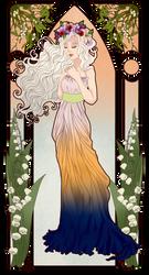 (Gift) Nouveau Fleurette by santhieen
