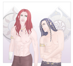 Maedhros and Fingon - Beloved Cousin
