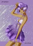 Purple like...