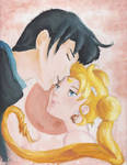 Prince Endimion and Princess Serenity