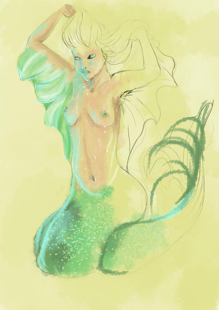 Mermaid (unfinished) by IlariArt