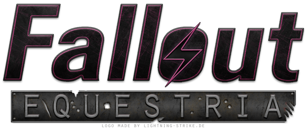 Fallout: Equestria Logo by Lightning5trike