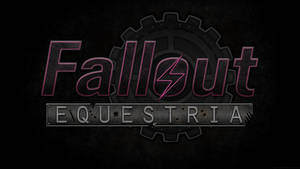 Fallout: Equestria Logo Wallpaper by Lightning5trike