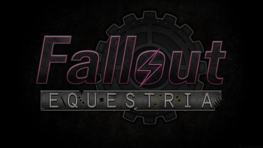 Fallout: Equestria Logo Wallpaper
