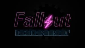 Fallout: Equestria Logo 3D - WIP 2