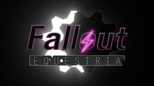 Fallout: Equestria Logo 3D - WIP 3