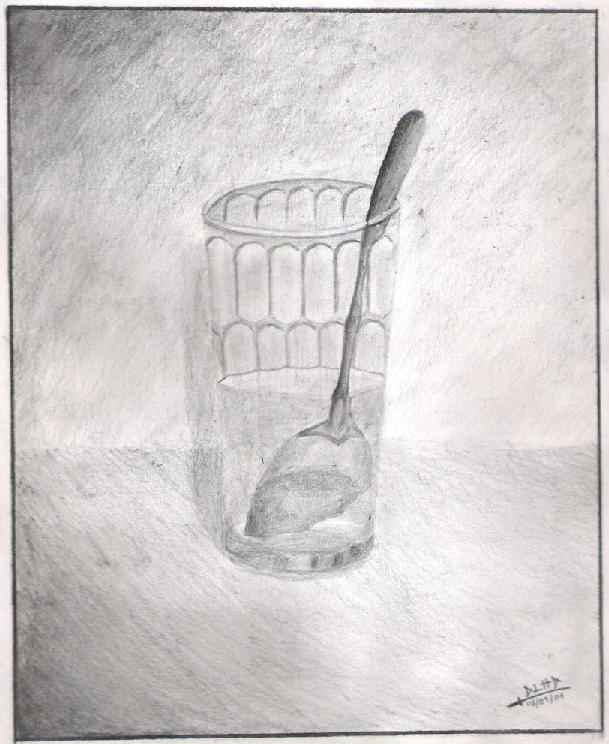 Cuchara en un vaso con agua by samuraisaxen on deviantart - Vaso con agua ...