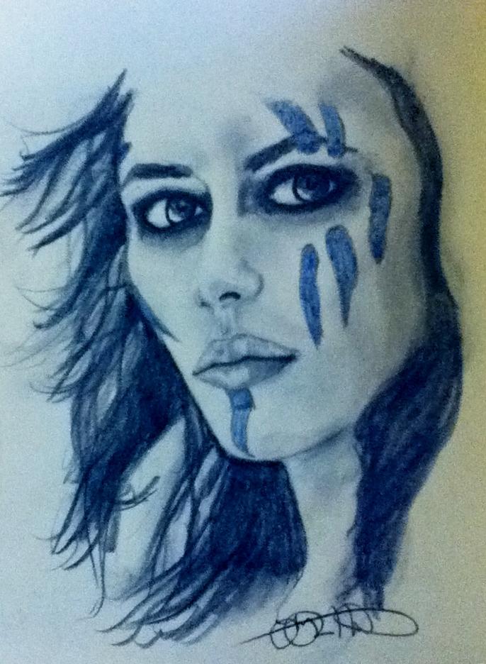 Pictish Face Paint