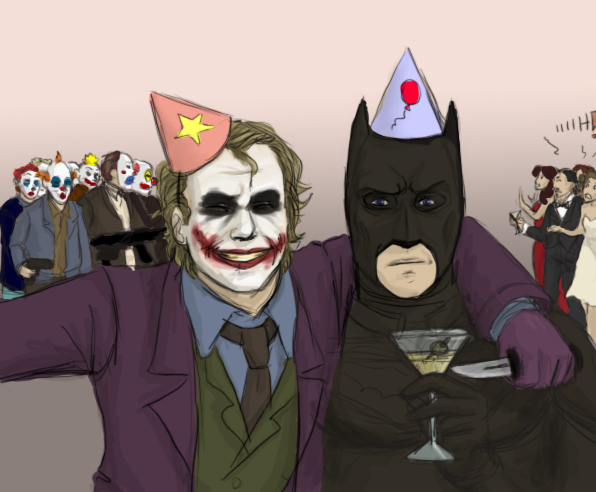 Happy birthday batman gif