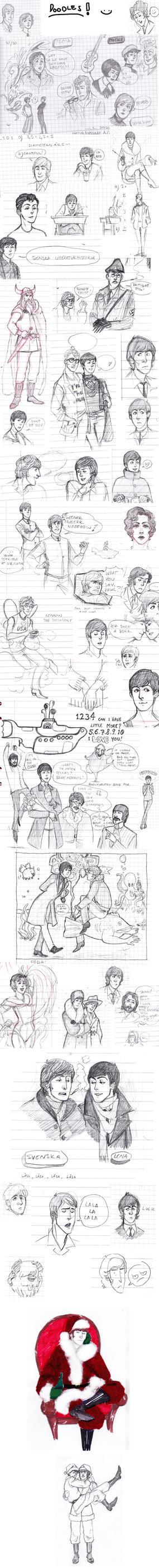 Huge doodle dump by Lollo-hehe
