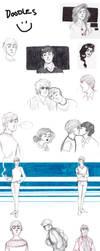 Doodle dump by Lollo-hehe