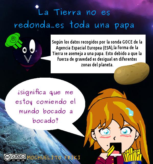 La Tierra Es Una Papa by Mochuelitofriki