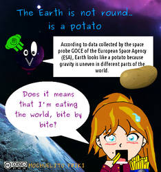 Earth is a potato