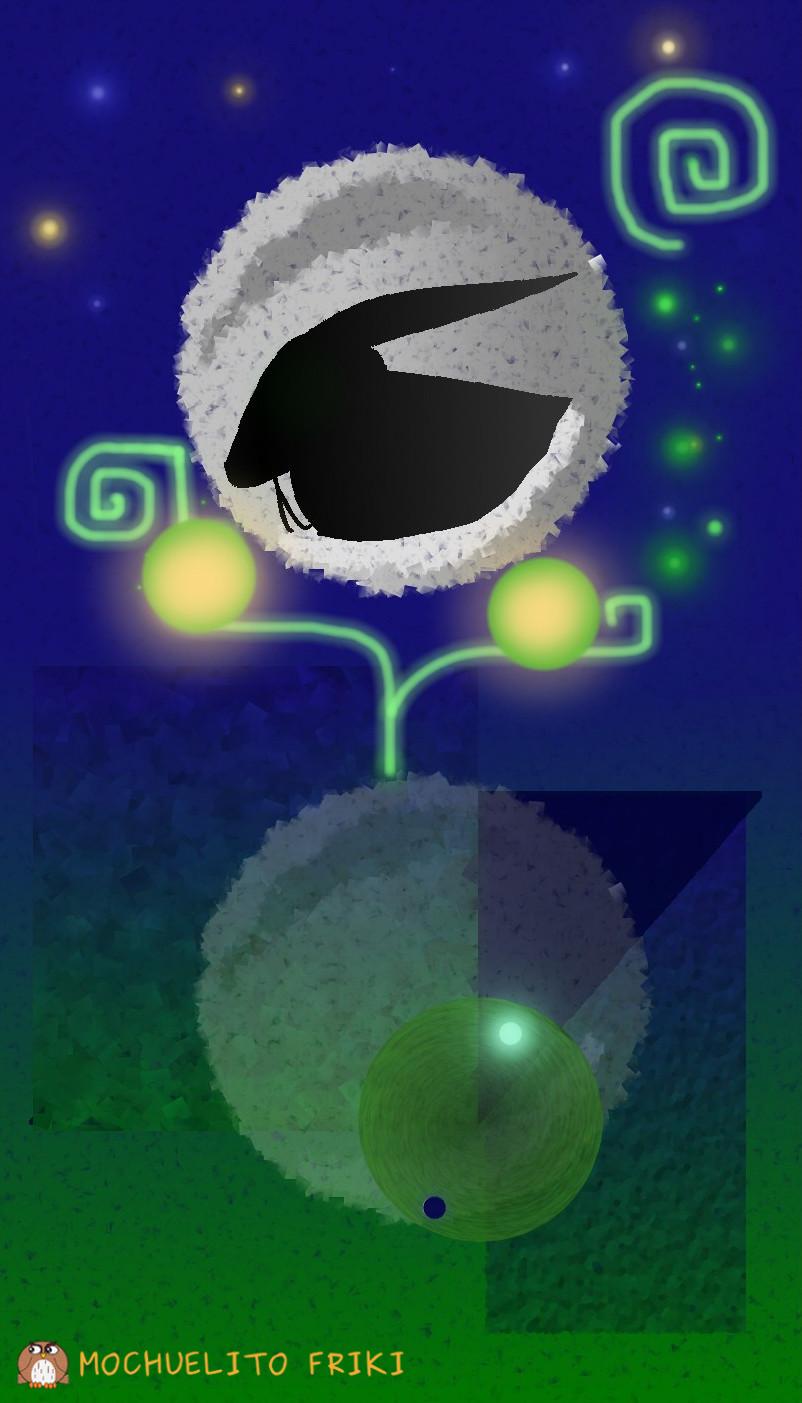 Conejo en la Luna o las 8 fases del queso by Mochuelitofriki