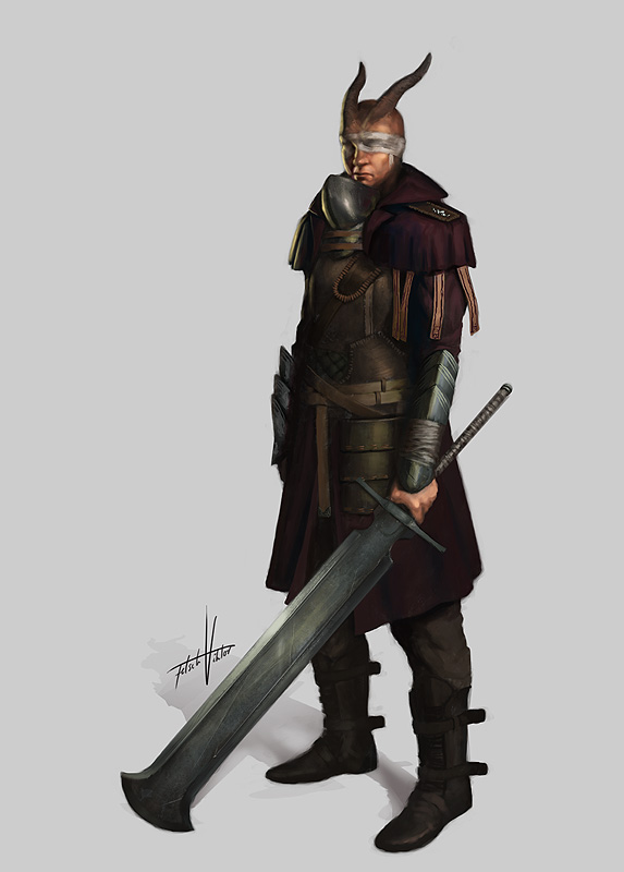 Swordguy by Fetsch