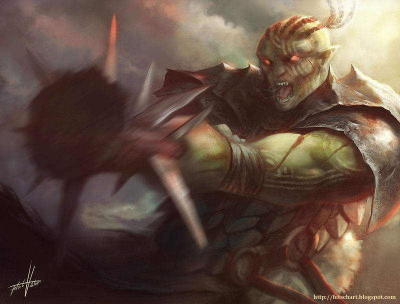 Ogre Warlord by Fetsch