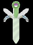 Celebi Sword by sleepbud3