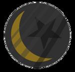 Dark Moon Badge by sleepbud3
