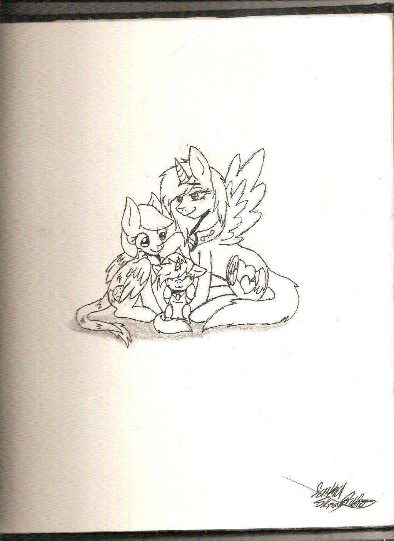 GAxLw with Moonlight (paper-ink ver) by ScribblySkiesStudios