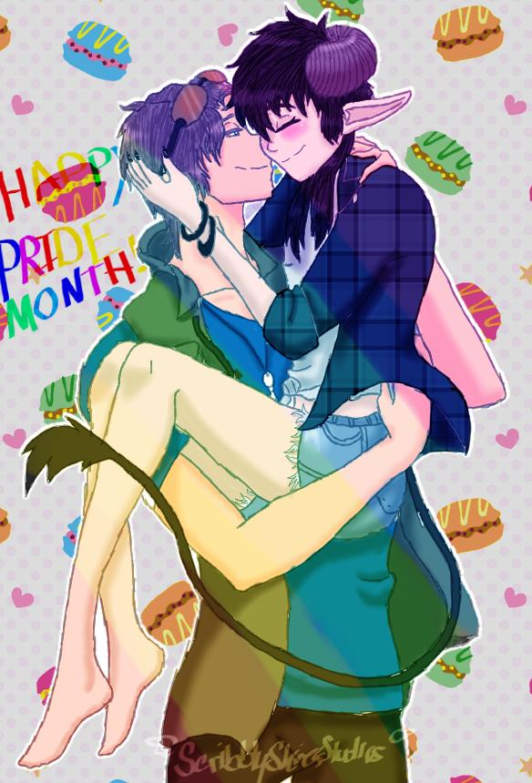 Pride Month DanEB by ScribblySkiesStudios