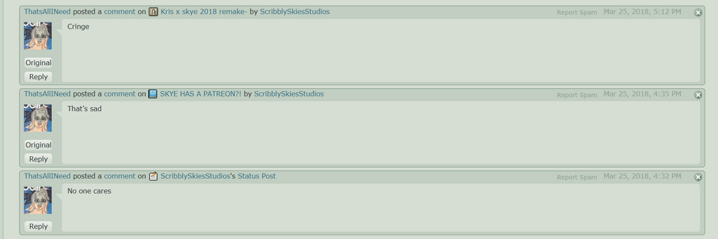 I Have A Troll. by ScribblySkiesStudios